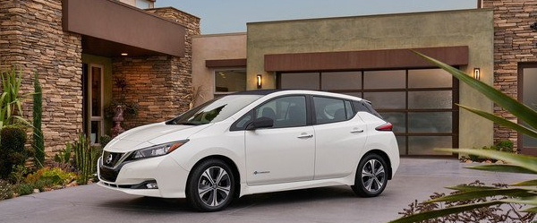 The all new 2018 Nissan LEAF
