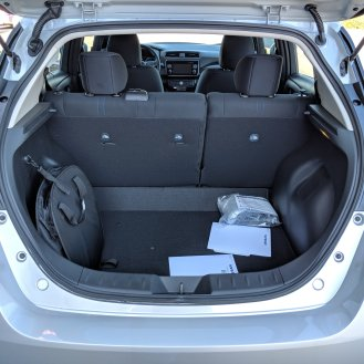 Large cargo space