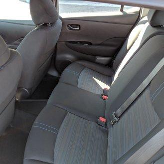 Comfy back seats