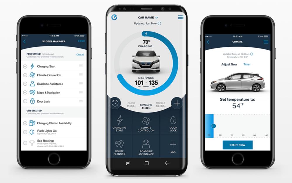 Nissan mobile app