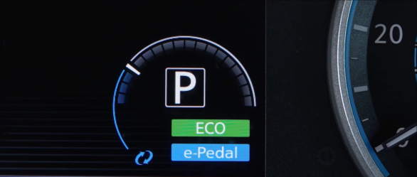 Eco and e-pedal alert