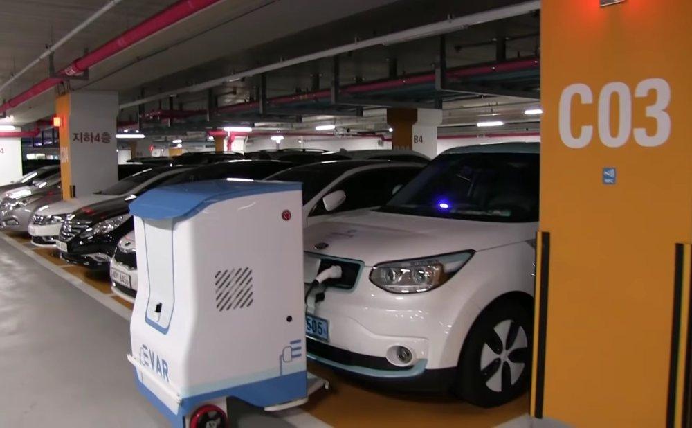Autonomous Charging Robot